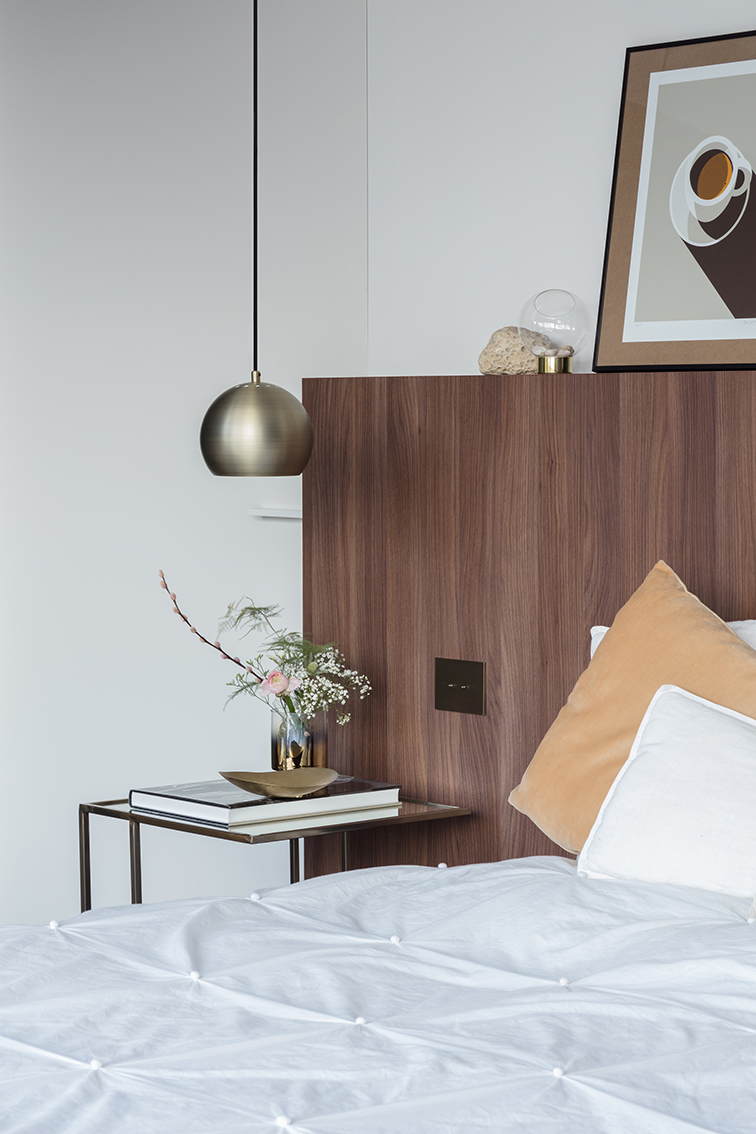 Interieur door interieurarchitect A. Hugelier luxe slaapkamer en ...